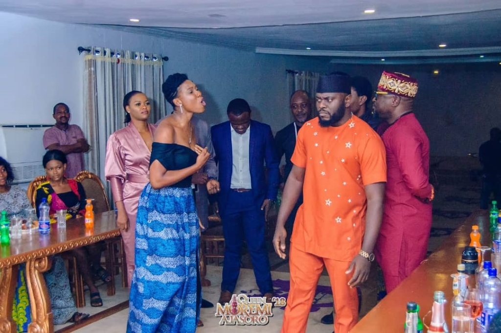 Cast of Moremi The Musical Visit to Ooni of ife ⋆ Queen Moremi