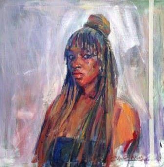 Edosa Oguigo (Nigerian Born, 1961)