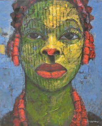 Alex Nwokolo (Nigerian Born, 1963)