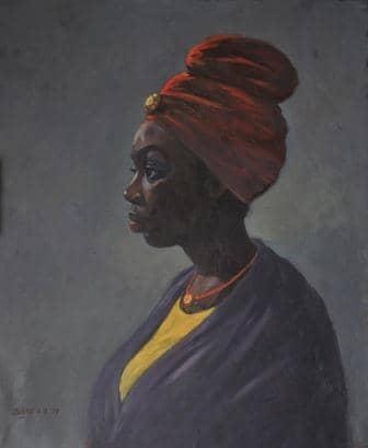 Abiodun Olaku (Nigerian Born, 1958)
