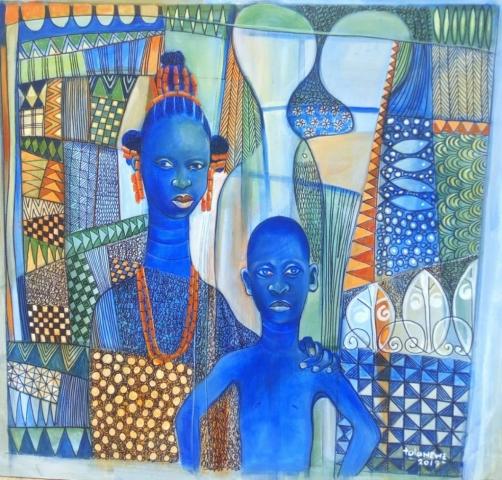 Tola Wewe (Nigerian Born, 1959)