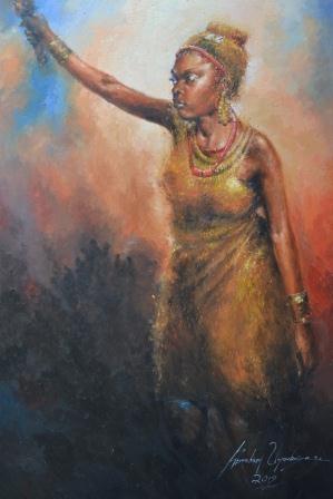 Abraham Uyovbisere (Nigerian Born, 1961)