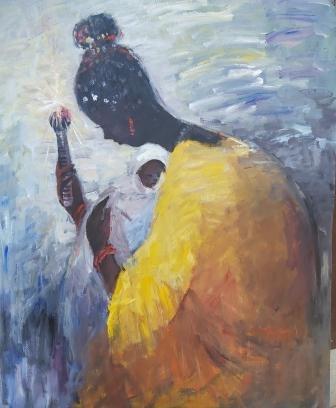 Gab Awusa (Nigerian Born, 1961)