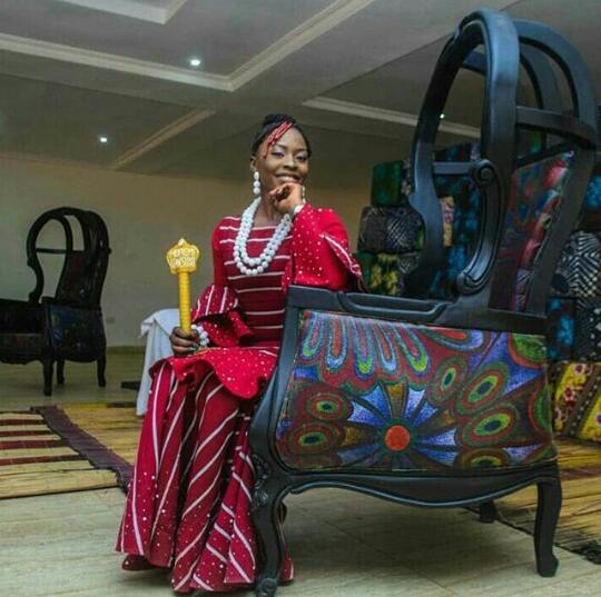 Queen Iyimide Sola Shittu (QMA Queen 2017/2018)