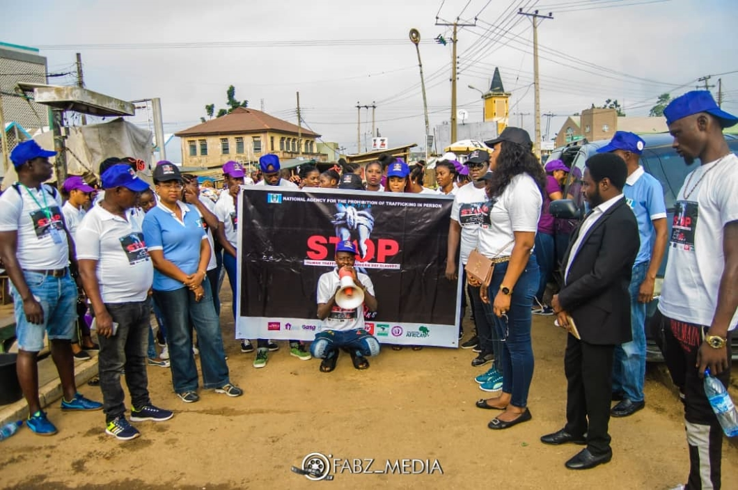 """QMA """"say no to slavery and trafficking"""" walk in Ife during the Moremi Edi Festival"""