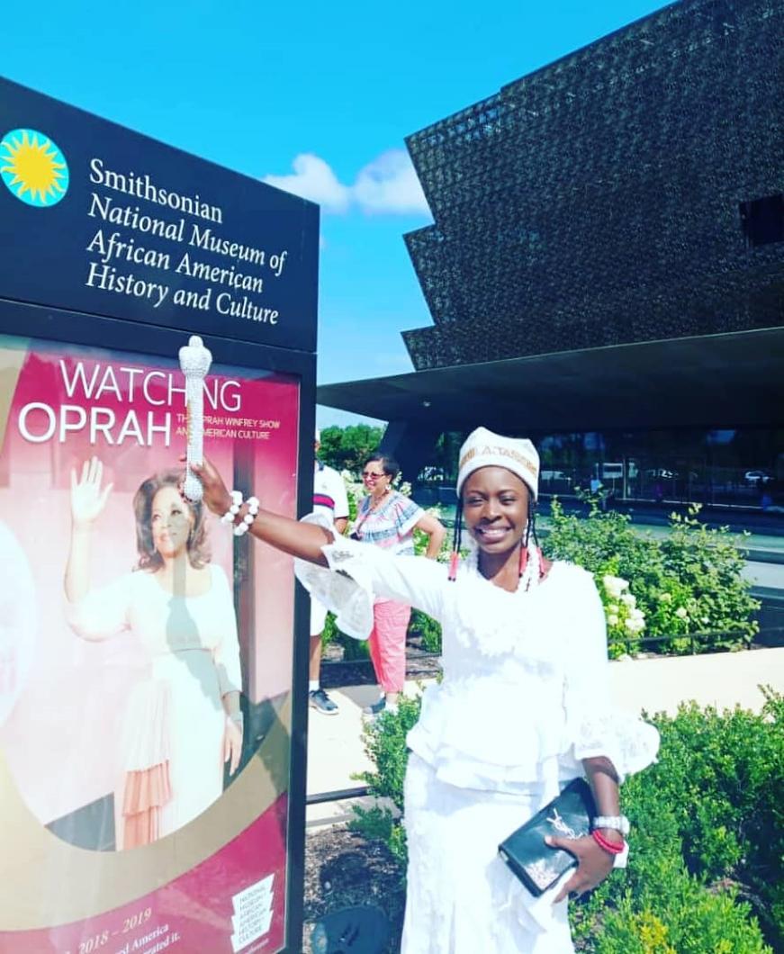 Queen Iyimide Sola Shittu (QMA Queen 2017-2018) in USA