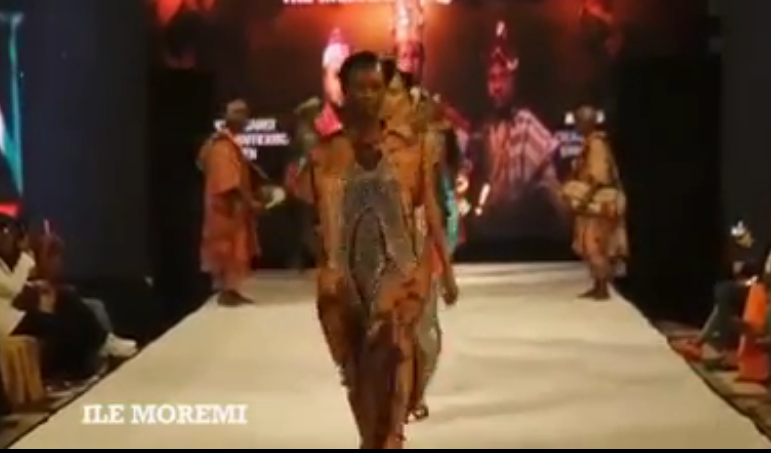 Princess Ronke empowered some of the contestants to create a Moremi Clothing line.