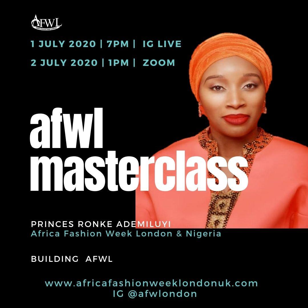 AFWL Masterclass: Building Africa Fashion Week London